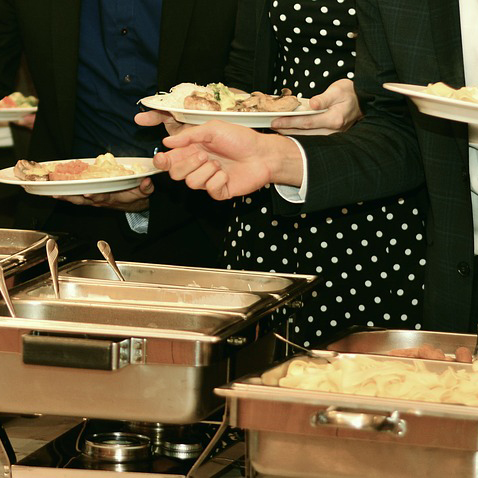 Buffets can be served in the meeting rooms or break out areas