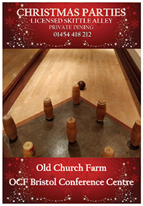 download our brochure about christmas parties at old church farm and christmas skittles parties
